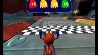 Pac-Man World Rally {PC Version} Playthrough-Part 8-Rally Cup{Normal Mode}/Unlocking