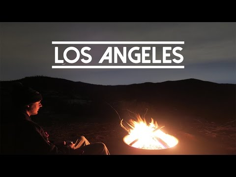Camping In The Hills Of LA