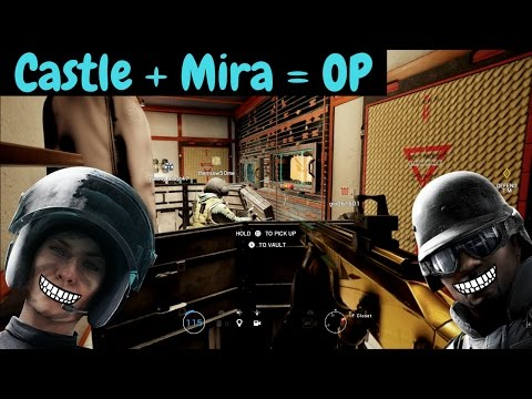 Mira/Castle Strat - Rainbow Six Siege