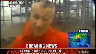 Hurricane Katrina: Landfall Coverage 8:30-9:30am (8/29/2005) - CNN