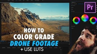 How to EASILY Color Grade DJI Mavic Pro Footage using Premiere Pro