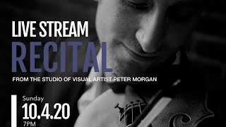 Help Me Create a Covid-19 Artist Relief Fund! Live Stream Recital