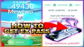 POKEMON GO BEST WAY TO GET EX RAID PASS | HOW I RECEIVED 4 MEWTWO PASSES