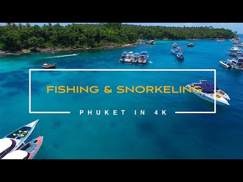 Things to do in Phuket. Thailand. August 2016. 4K video.