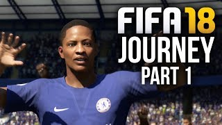 FIFA 18 THE JOURNEY Gameplay Walkthrough Part 1 - DEMO