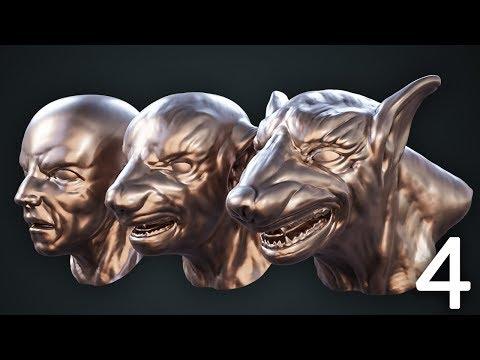 CGC Classic: Transforming Werewolf Pt. 4 - The Transformation (Blender 2.6)