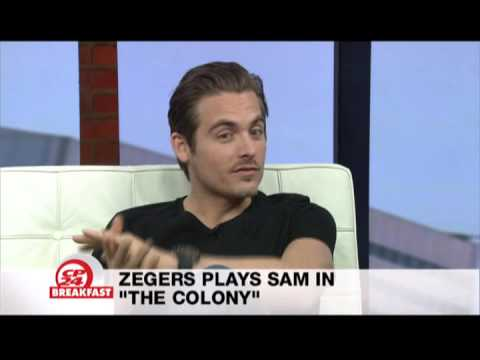 "Kevin Zegers interview on CP24 Breakfast for ""The Colony"""