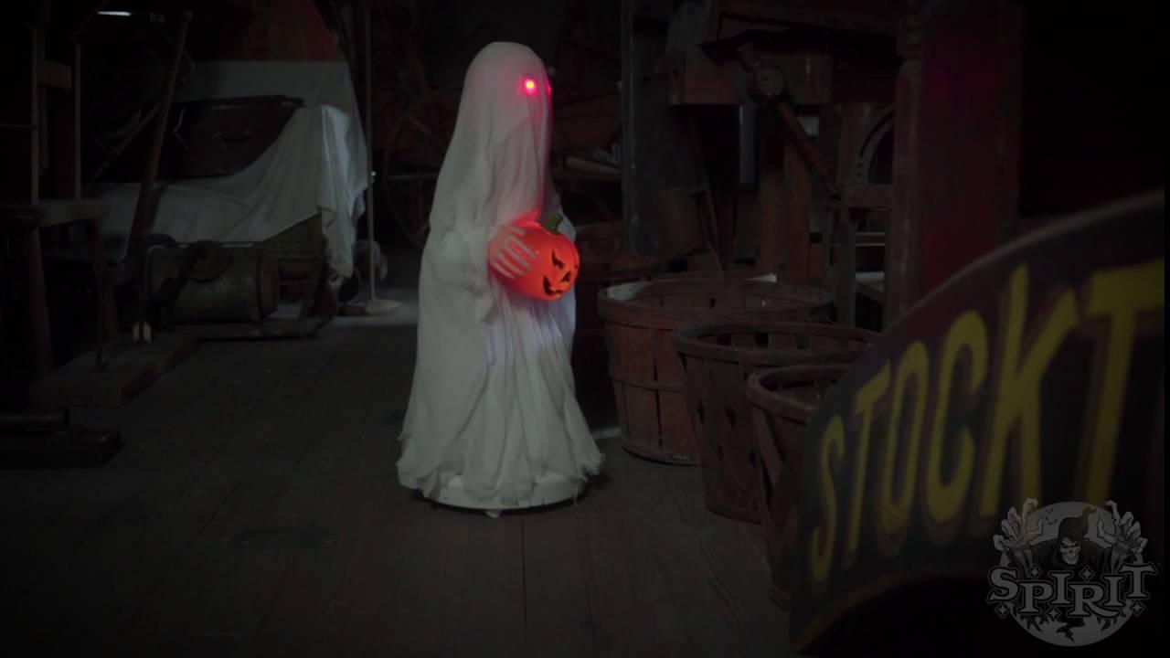 Roaming Ghost Boy - Spirit Halloween - YouTube