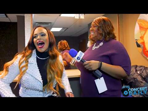 """Interview: Faith Evans reflects on """"The King And I"""" album and supporting Raheem DeVaughn's concert"""