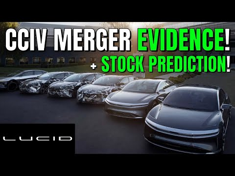 CCIV LUCID MOTORS MERGER EVIDENCE and CCIV STOCK PREDICTION! CCIV LUCID MOTORS MERGER UPDATE