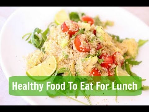 how to eat a healthy lunch