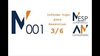 Balance de Sumas y Saldos y Existencias - Informe Tipo de Asesorías - MESP_001 (3/6)