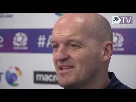 Gregor Townsend  | 2019 Guinness 6 Nations Squad Announcement