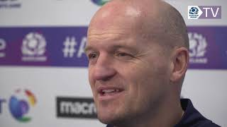 Gregor Townsend    2019 Guinness 6 Nations Squad Announcement