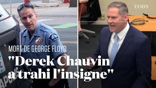 Mort de George Floyd : le puissant réquisitoire du procureur contre Derek Chauvin