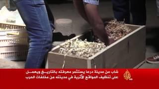 هذه قصتي- سليمان العيسى.. مهتم بحماية آثار بصرى الشام