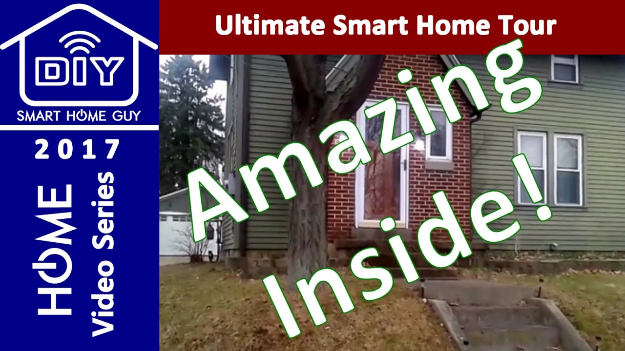 best smart home tech w wink hub 2 google home nest philips hue youtube. Black Bedroom Furniture Sets. Home Design Ideas
