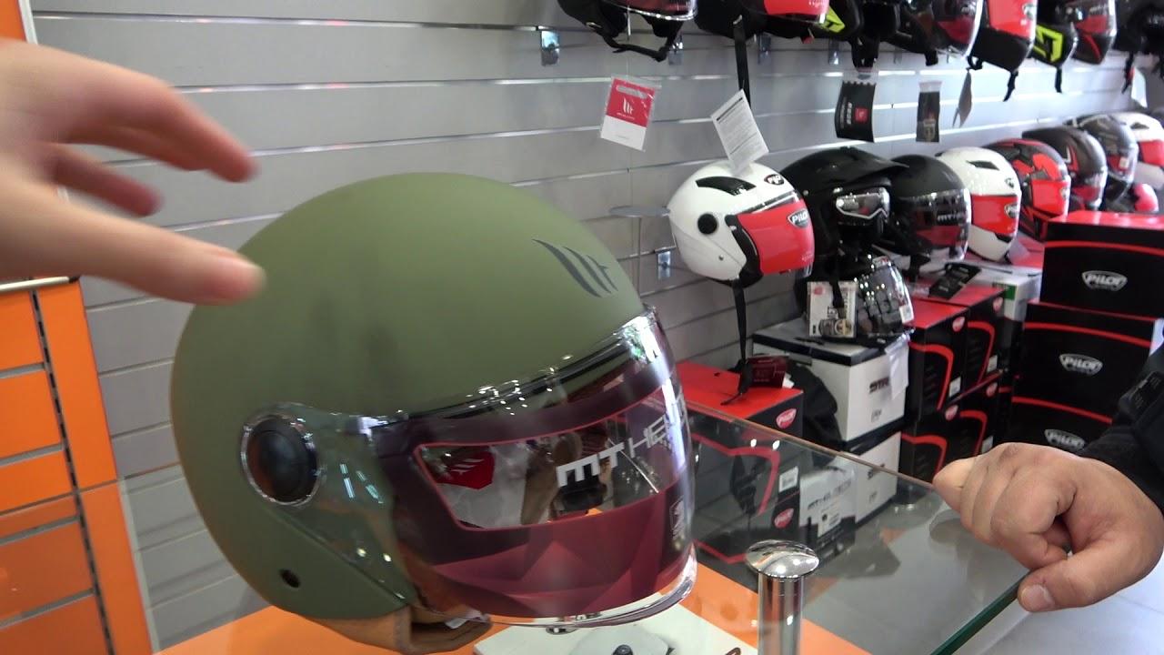 AGV Orbyt Solid Motorrad Jet-Helm