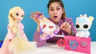 Ayşe Rapunzeli partiye hazırlanıyor! Kızlar için eğlenceli video