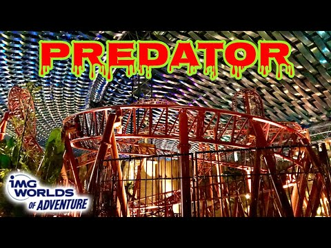 Predator (IMG Worlds of Adventure) Front Row POV HD GoPro