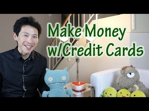 3 Levels of Making Money from Credit Cards