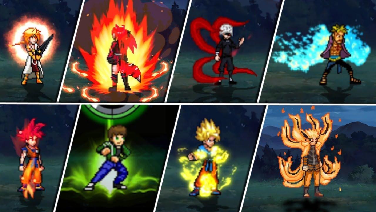 Download All Transformations ANIME WAR SUPER 2 MUGEN KODAIKA / Forms - MUGEN