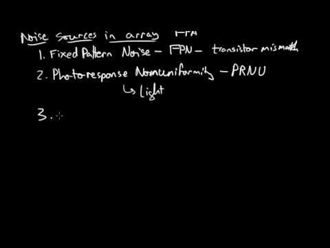 Noise in an array of pixels [10 of 10 Image Sensor Noise]