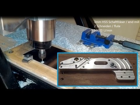 cnc milling aluminium with china spindle diy fr se eigenbau youtube. Black Bedroom Furniture Sets. Home Design Ideas