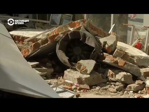 Страшные последствия землетрясения и цунами в Индонезии