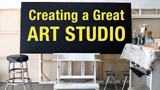 Creating a Great Art Studio