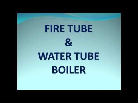 Fire tube and water tube boiler - YouTube