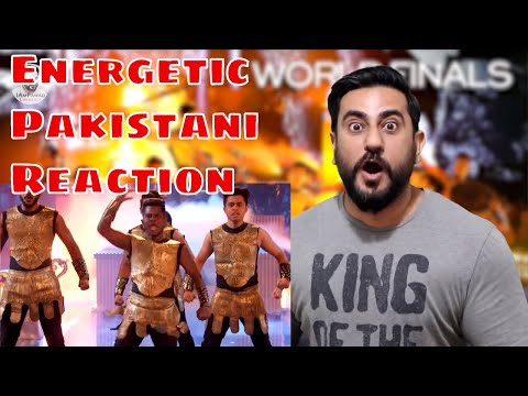 Play Energetic Pakistani Reaction on The Kings' Final Routine is an Action Movie Live on Stage