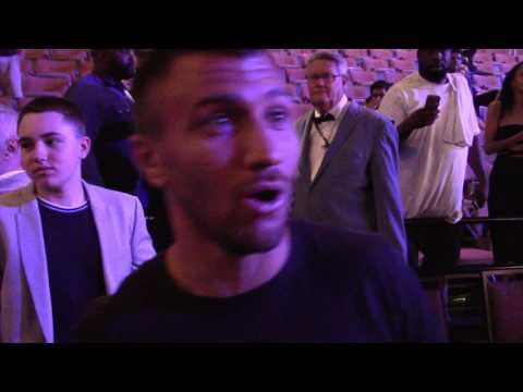 VASYL LOMACHENKO REACTS TO ANDRE WARD VS SERGEY KOVALEV 2. HoopJab Boxing