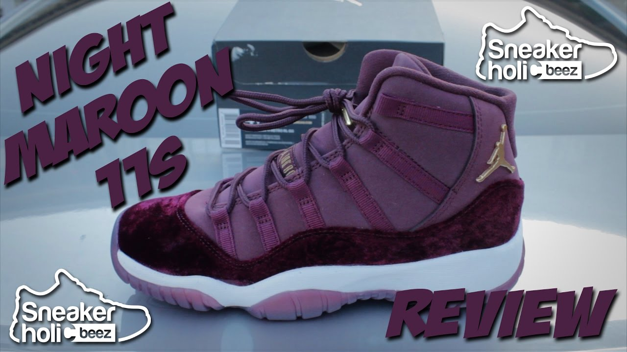 bef2c07715d AIR JORDAN 11 HEIRESS NIGHT MAROON