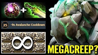 NEW CANCER HERO MEGACREEP COMEBACK! Octarine Core Tiny Shotgun 7.21 Meta Gameplay Dota 2