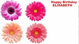 Elisabeth - flowers - Happy Birthday