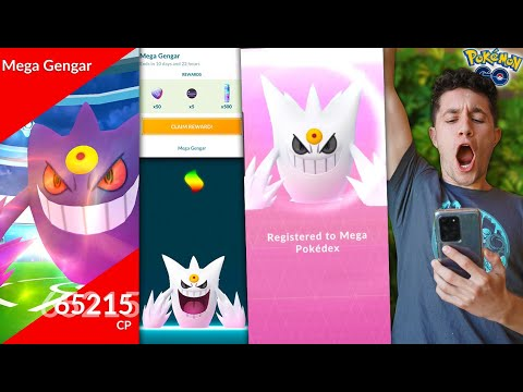 MY GREATEST EVOLUTION EVER - SHINY MEGA GENGAR in Pokémon GO! (Halloween Update)