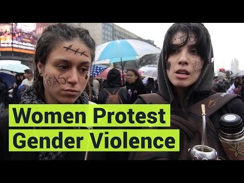 Thousands of Women Protest to End Gender Violence in Argentina