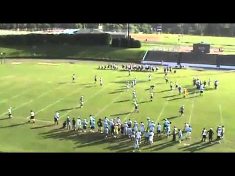 Burns High School Football versus Brevard in a 7-on7 Game