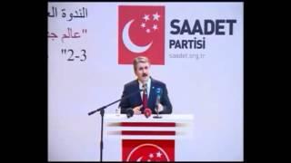 Muhsin Yazıcıoğlu'nun toplantısı ve Erbakan      Ahmet Sami Benli