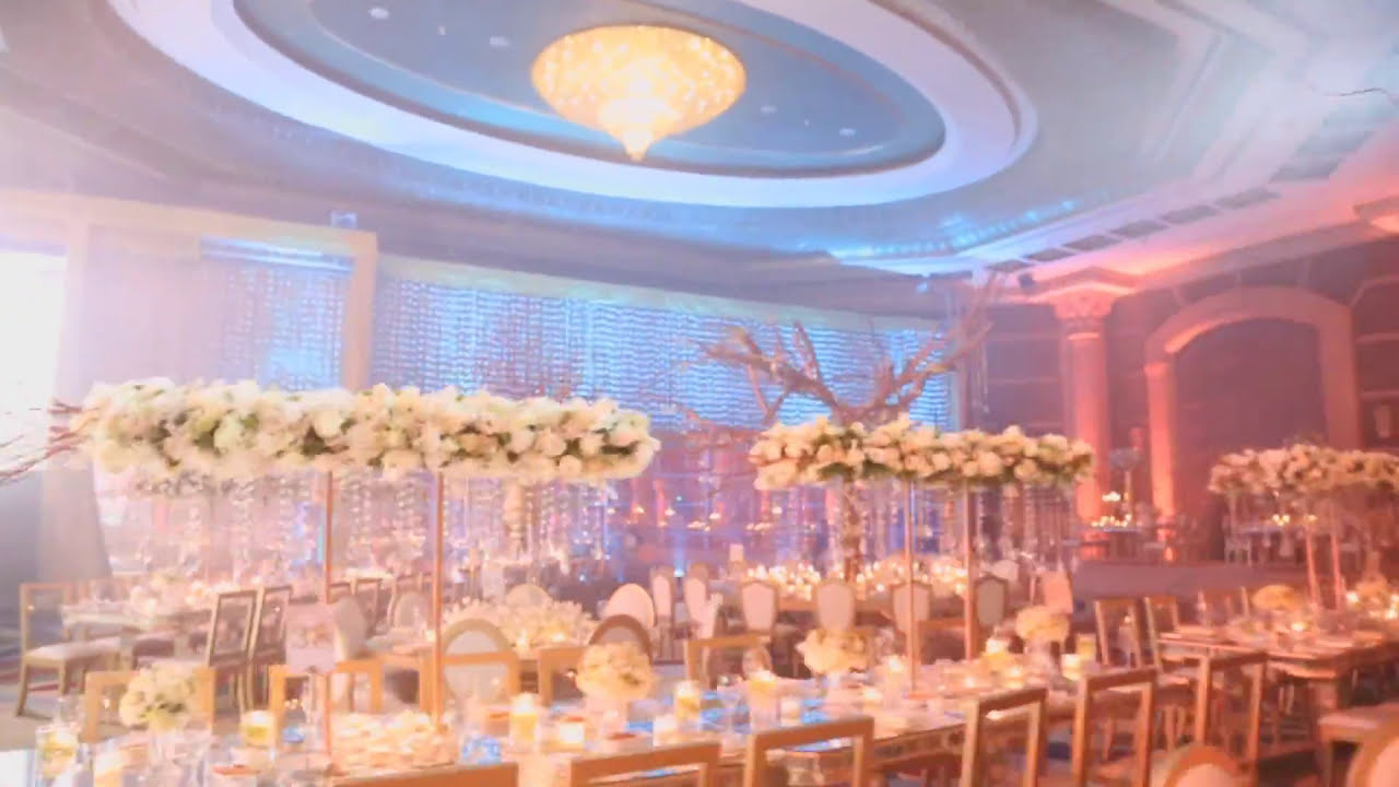wedding trailer decoration at habtoor hilton hotel beirut lebanon by fadi fattouh youtube