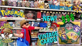 HUNTING The MOST EXPENSIVE POKEMON CARDS At Walmart! NEW MYSTERY DECK BUILDERS CUBE VINTAGE SURPRISE