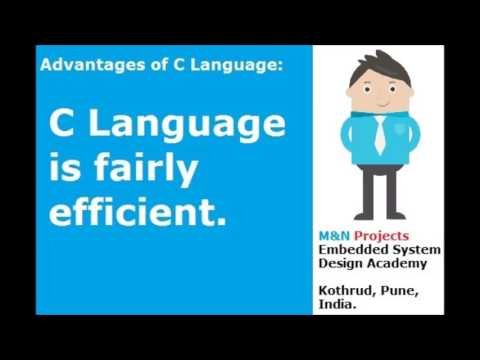 Why is C language used in Embedded System Design ?