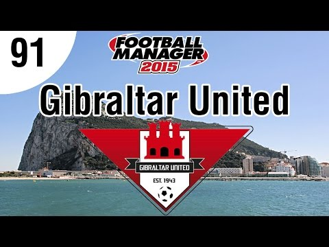 Football Manager 2015 | Gibraltar United FC | Part 91 - Champions League 2nd Qualifying Phase