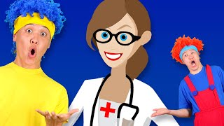 Policeman, Fireman, Doctor & Other Professions   D Billions Kids Songs
