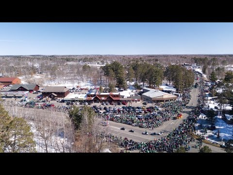 2018 St Patrick's Day Parade Crosslake, MN