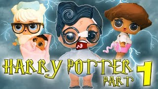 LOL Surprise Dolls Perform Harry Potter and the Sorcerer's Stone Part 1! Starring Dollface & Cherry!