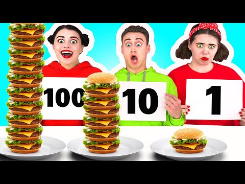 100 FOOD LAYERS CHALLENGE