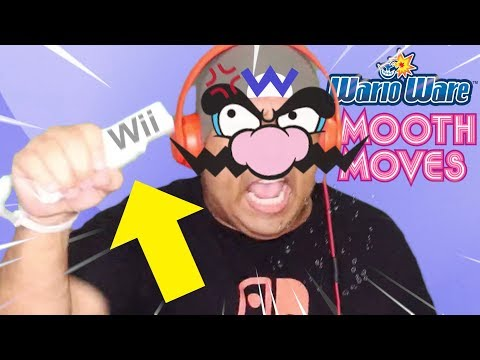 WHY I LEGIT LOOK LIKE WARIO THICK AHH THO LMAO!! [WARIO WARE: SMOOTH MOVES]
