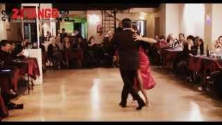Hernan Rodriguez & Florencia Labiano Milonga Criolla en Porteño y Bailarin Julio 2013
